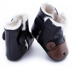 Boots souples cuir Roland