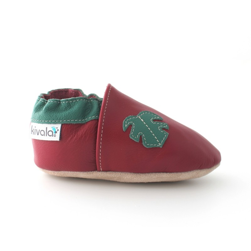 chaussons cuir souple tropical 9a2a5bf9cf0