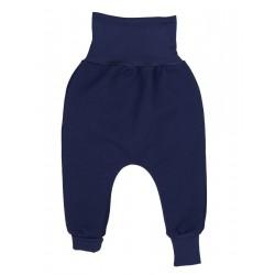 Pantalon coton bio Marine