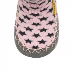 Chaussons Chaussettes Cool In Pink