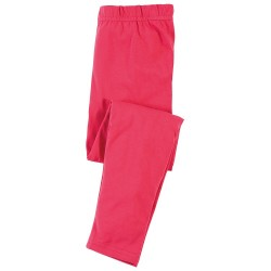 Leggings coton bio Framboise
