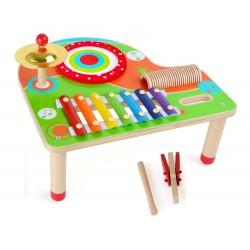 Table en bois Musicale