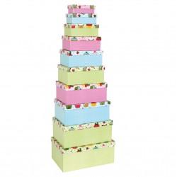 Boite cadeau Cupcakes
