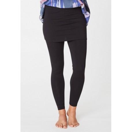 Leggings jupe bambou Jay Noir