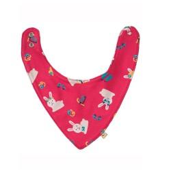 Bavoir bandana coton bio Bunny