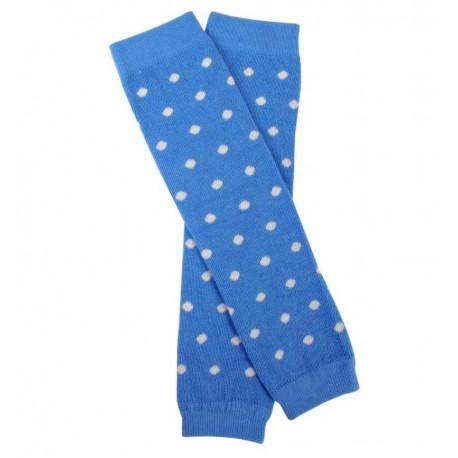 Jambière coton bio Dots Blue