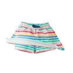 Jupe Short coton bio Rainbow