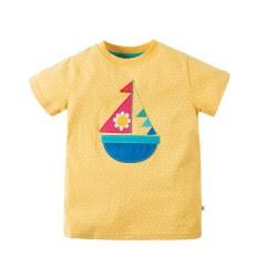 Tee-shirt coton bio Boat 4-5 Ans