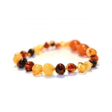 bracelet en ambre bebe