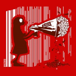 Tee-shirt coton bio Le Prix du Silence Rouge