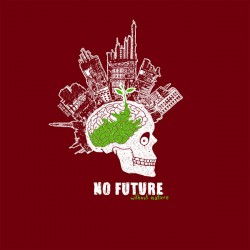 T-Shirt manches longues coton bio No Future