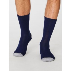 Chaussettes bambou Marines