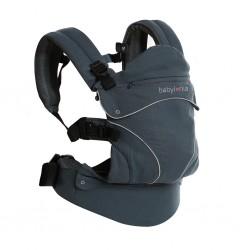 Porte bébé ergonomique en coton bio Flexia deep grey
