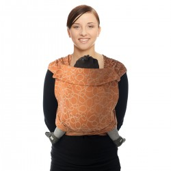 BB Tai en coton bio caramel