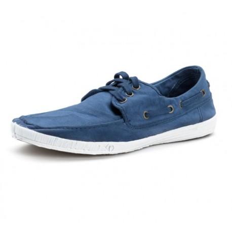 Chaussures Bateau coton bio Azul