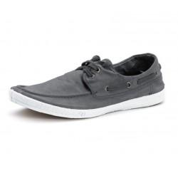 Chaussures Bateau coton bio Antracita