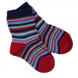 Chaussettes coton bio Multi-Rayures