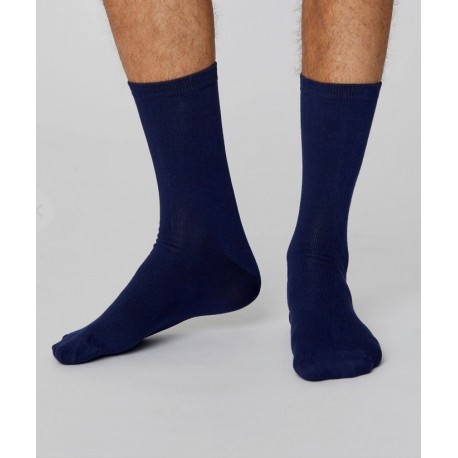 Chaussettes bambou Navy
