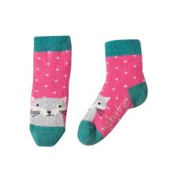 Lot 3 paires chaussettes coton bio Rainbow
