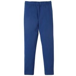 Leggings coton bio Bleu Roi