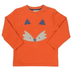 Sweat coton bio Fox 3-6 Mois