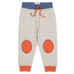 Jogger coton bio Stripy 3-6 Mois
