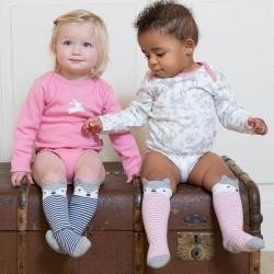 Lot 2 paires chaussettes coton bio Fox