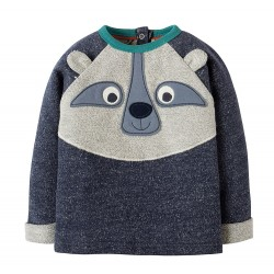 Pull coton bio Forest 3-6 Mois