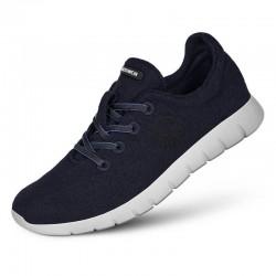 Runners laine Mérinos Blau