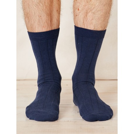 Chaussettes chanvre Navy