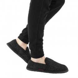 chaussons laine Niederthal anthracite