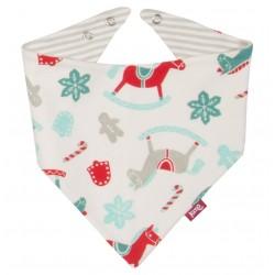 Bavoir bandana coton bio Rocking Horse