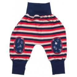 Pantalon coton bio Joga Rouge 3-6 Mois