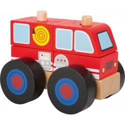 Construction bois Camion de Pompier