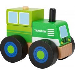 Construction bois Tracteur