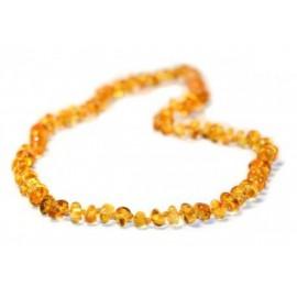 collier ambre miel