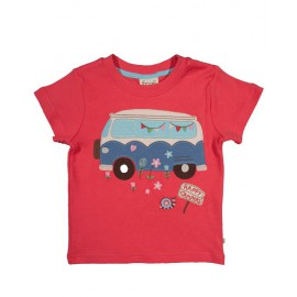 Tee-shirt Happy Frugi Corail