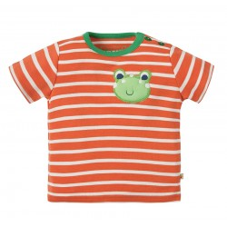 Tee-shirt coton bio Wilbur 6-12 Mois