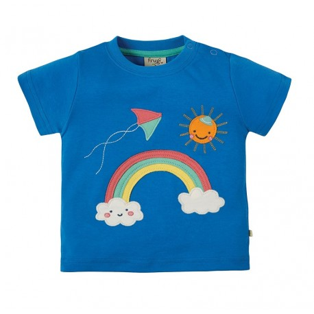 T-shirt coton bio Rainbow