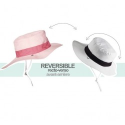 Chapeau Anti-UV Reversible Kapel Rose