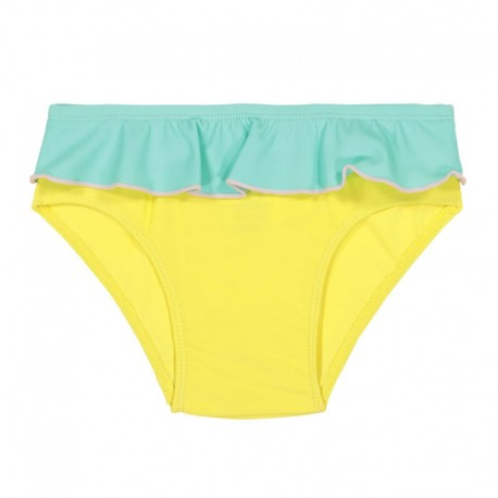 Slip de bain Anti-UV Yellow