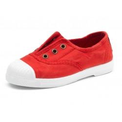 Tennis coton bio Rojo 33