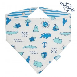 Bavoir bandana coton bio My World