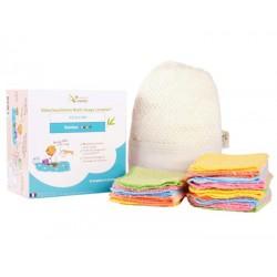 Kit Eco Net lingettes en coton bio