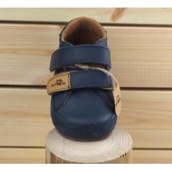 Barefoot double scratch Bleu Marine