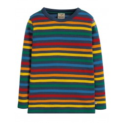 T-shirt coton bio Stripe