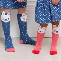 Lot 2 paires chaussettes coton bio Bunny
