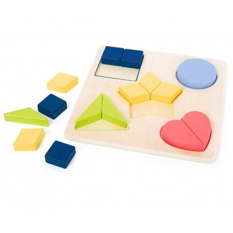 Puzzle bois Formes