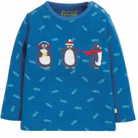 Tee-shirt coton bio Pingouins