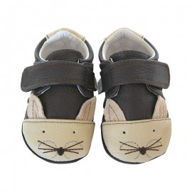 Chaussures souples cuir Parker